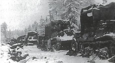 Sumušti sovietų daliniai Suomijoje
