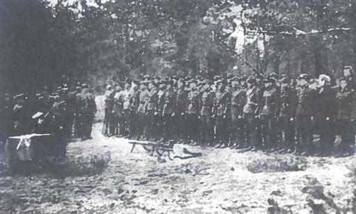 Dainavos apygardos Kazimieraičio rinktinės partizanų sąskrydis. 1948 m.