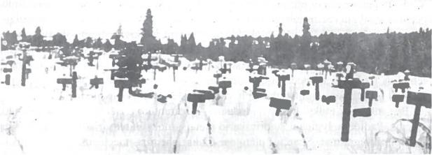 Intos lagerio kapinės. Sibiro platybės nusėtos milijonų žmonių tarp jų ir lietuvių, kaulais