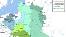 ATR padalijimų žemėlapis
