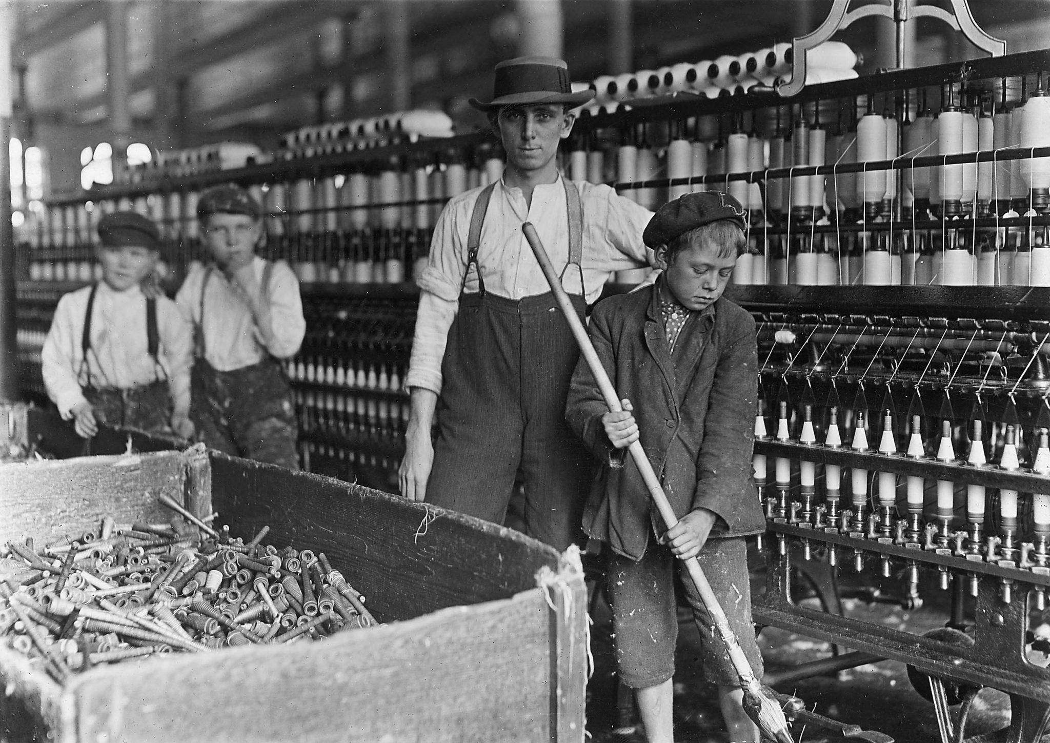 pradžia darbas pramonės revoliucija)