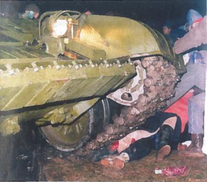 1991 m. naktis iš sausio 12-osios į spalio 13-ąją prie Televizijos bokšto