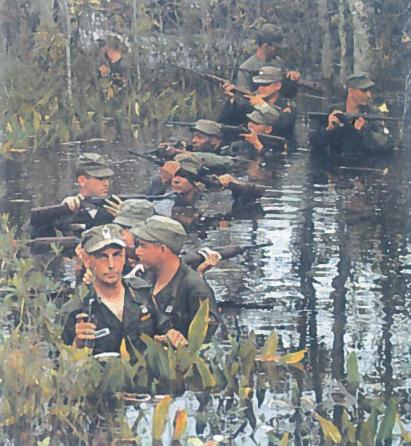 Amerikiečių kareivių kasdienybė Vietname