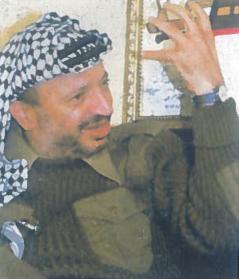 Ilgametis palestiniečių išsivadavimo kovos vadovas Jesyras Arafatas