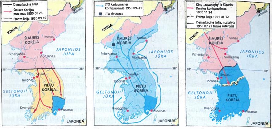 Karas Korėjoje 1950-1953 m.