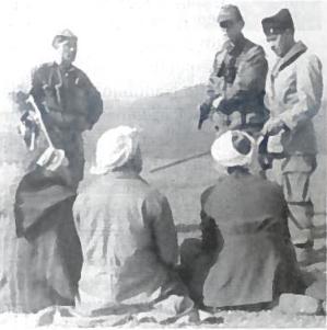 Sėkminga prancūzų parašiutininkų akcija Alžyre