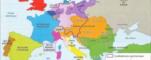 Europa XIX a. žemėlapis