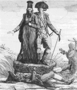 1789 m. karikatūra