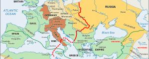 Krikščionybės plitimas iki 1100 m.