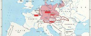 Nacių agresijos žemėlapis 1936-1939 m.