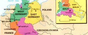 Padalinta Vokietija 1945 m.