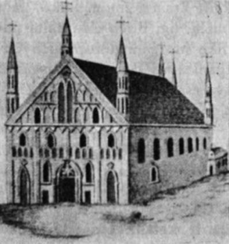 Antroji Vilniaus katedra, sudegusi 1530 m.