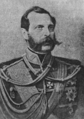 Caras Aleksandras II (1855-1881).