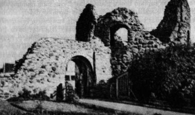 Kauno pilies griuvėsiai