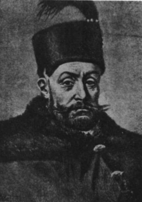 Steponas Batoras, 1576—1586 m. d. Lietuvos kunigaikštis ir Lenkų karalius. (S. Vitkevičiaus piešinys).