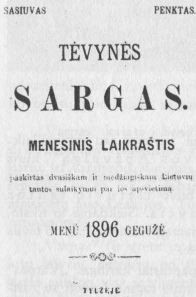 Lietuva carinės Rusijos valdžioje: tautiškasis atgimimas.