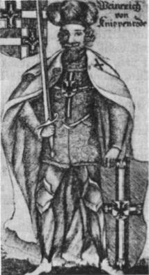 Vinrichas von Kniprodė, kryžiuočių ordino magistras (1351 — 1382 m.). Jam valdant ordinas pasiekė aukščiausią klestėjimo laipsnį.