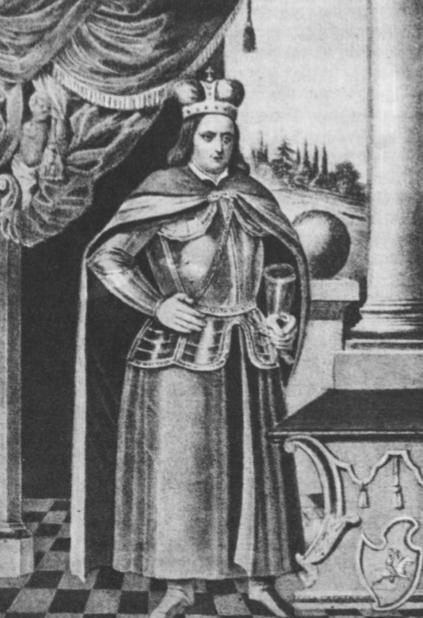 Vytautas Didysis. Vienas iš seniausių Vytauto D. portretų, esąs Nesvyžiuje