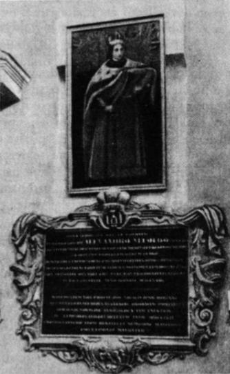 Vytauto Didžiojo paminklas Vilniaus katedroje