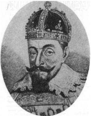 Zigmantas Vaza 1588—1632 m. d. Lietuvos kunigaikštis ir Lenkų karalius.