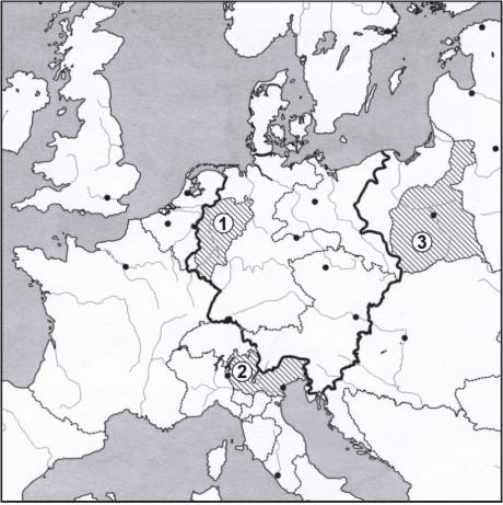 Vienos kongreso žemėlapis